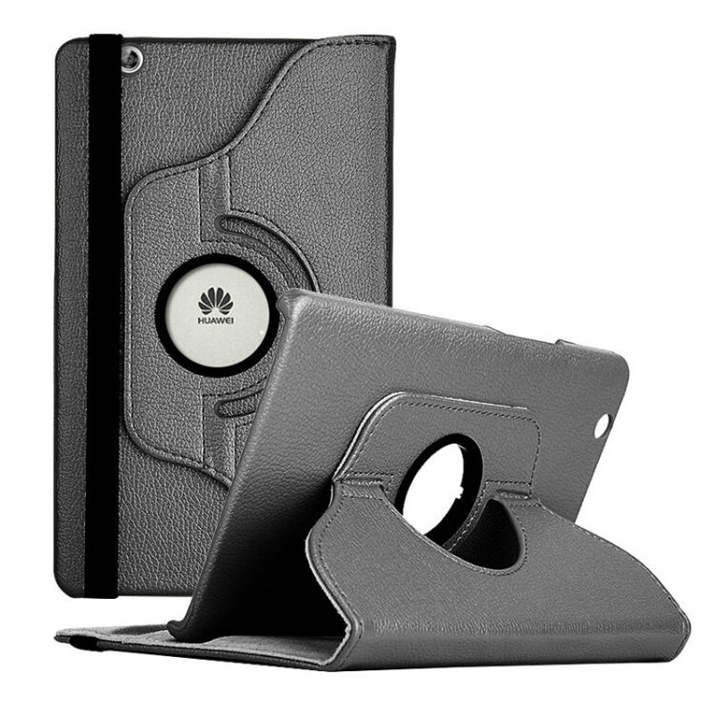 360 Degree Rotation Case For Huawei Mediapad M3 8.4 Inch PU Leather Smart Stand Cover Coque Funda