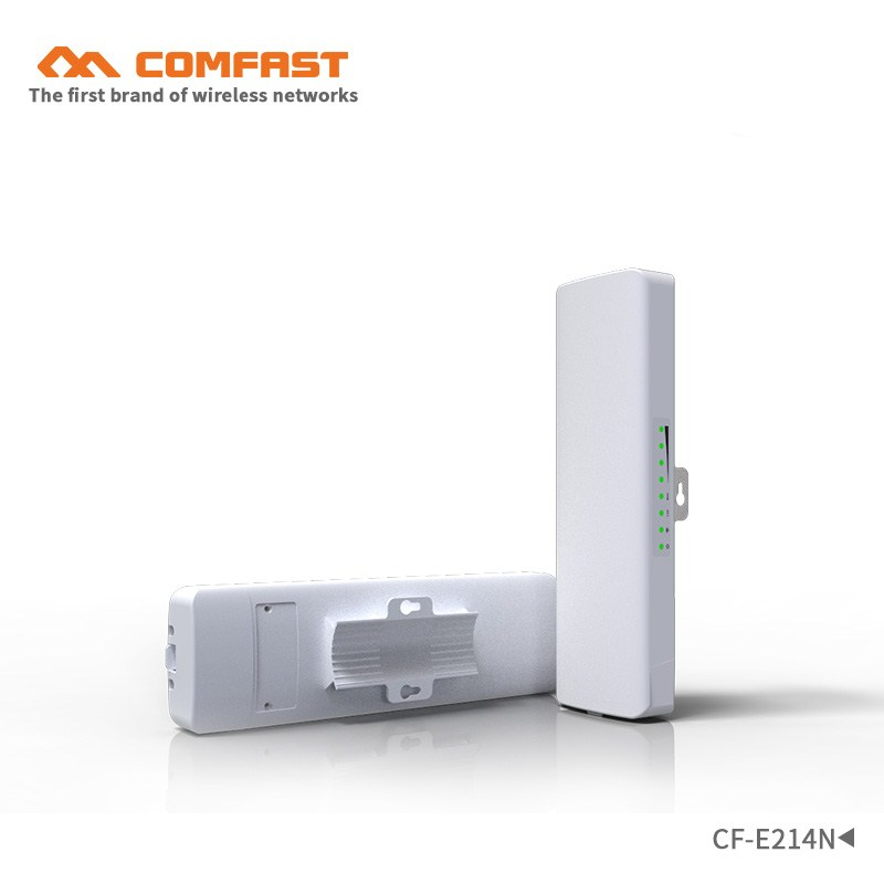 1-2KM 2.4ghz 150Mbps Outdoor CPE &Wireless bridge wifi Range Extender repeater POE WIFI Router base station 500mW 12dBi antenna