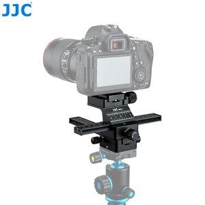 Image 2 - JJC makro koncentrując się szyna Rrecise pozycjonowanie kamery w X i Y kierunkowe osi możliwości arca swiss płyta szybkiego uwalniania