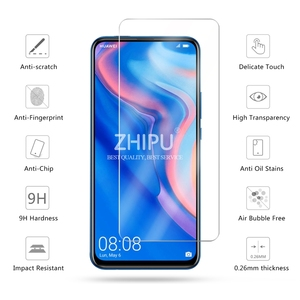 "Image 2 - 2 Pcs מזג זכוכית עבור Huawei P חכם Z מסך מגן 2.5D 9 שעתי מזג זכוכית עבור Huawei P חכם Z מגן סרט 6.59 ""*"