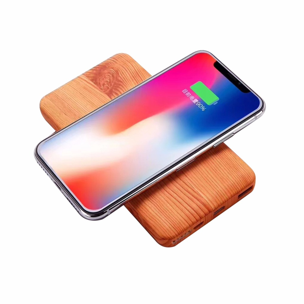 Qi Wireless Charger 10000mAh Portable USB Power Bank For Samsung Note 8 S8 PowerBank Wireless Charging Pad for iPhone X 8 Plus Qi Wireless Charger 10000mAh Portable USB Power Bank For Samsung Note 8 S8 PowerBank Wireless Charging Pad for iPhone X 8 Plus
