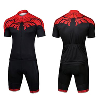 Maillot ciclismo hombre Spiderman Cool Bike bib short set Short sleeve Cycling kit mens 2019 Ropa bicicleta