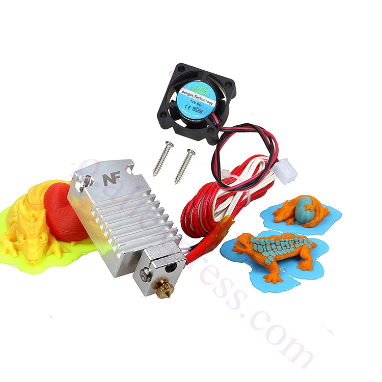 2017 Newest Design Cyclops Extruder 2 In 1 Out 2 colors Hotend Bowden Extruder Compatible with