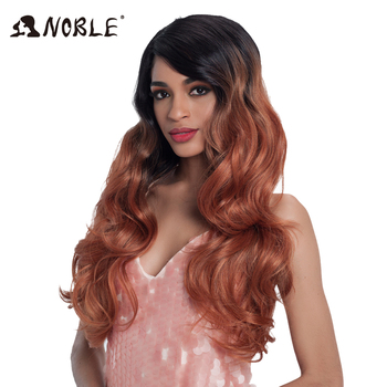Noble Loose Wave Synthetic Hair Bundles 18-22inches 7pcslot For Full Head Hair Weave With Closure For Black Women Free Shipping
