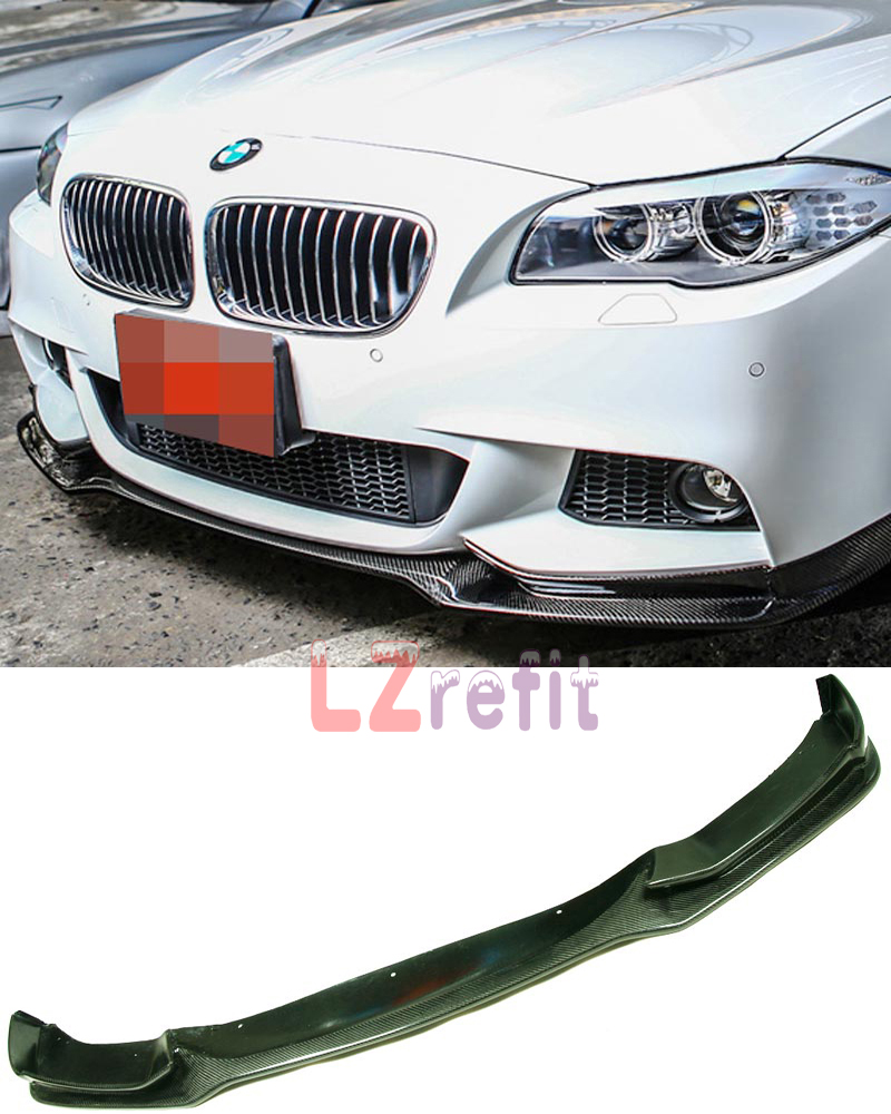 2011 Bmw 535i M Sport: E Type Real Carbon Fiber Front Lip Spoiler For BMW F10 F11