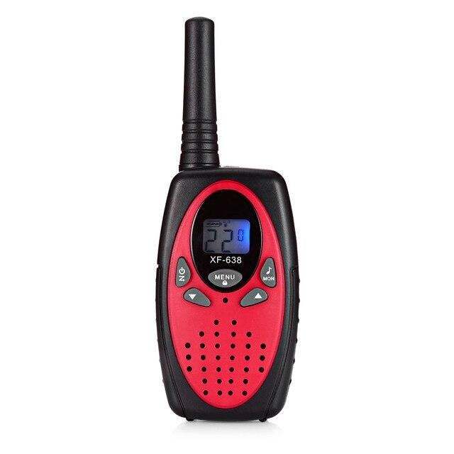 2pcs XF-638 22 Channel Travel Handheld Walkie Talkie Kids Portable 2 Way Transceiver 1