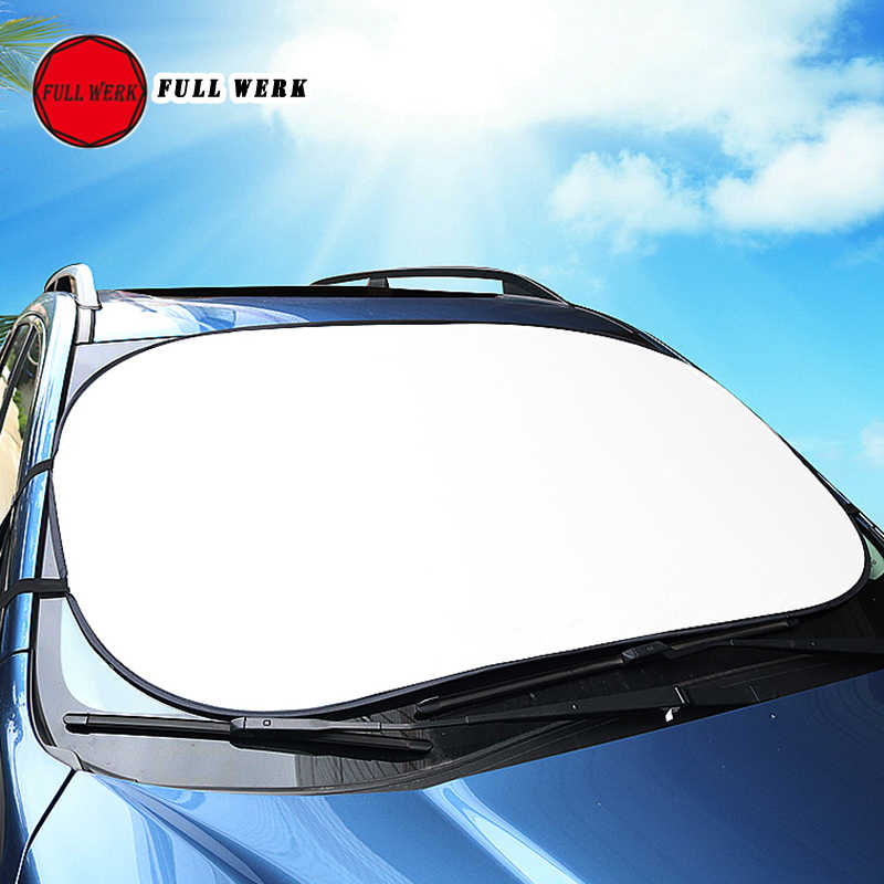 Фото 1 шт. Складной автомобильный солнцезащитный козырек для переднего лобового