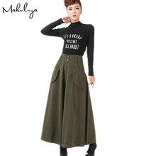 Makuluy 2018 better cotton wide trousers top quality women wide leg trousers casual wide leg pants slim waist lady trousers L6