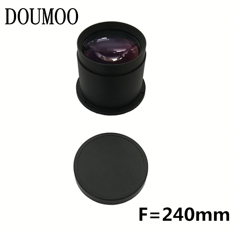 DIY projector lens F=240mm 15 layers coating high definition lens HD projection proejector lens for 10.1 inch  7 inch DIY projector lens F=240mm 15 layers coating high definition lens HD projection proejector lens for 10.1 inch  7 inch