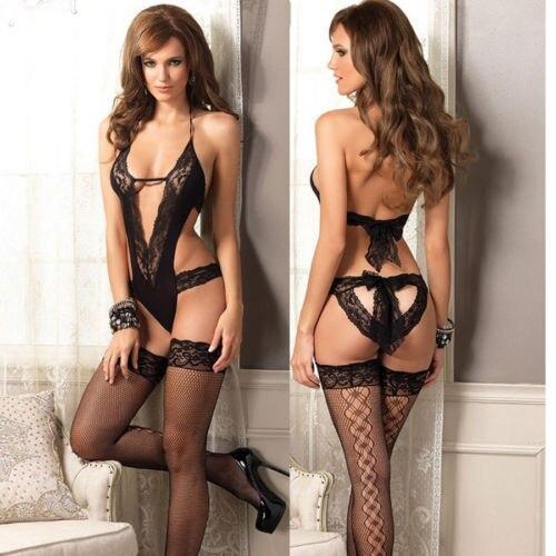 Sexy Hot Fashion Women lingerie bodysuits Underwear women Black Lingerie