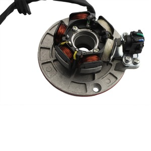 Image 4 - GOOFIT 12 V Magneto Stator Schwungrad Rotor Kit für Yx 140cc 150cc 160cc Pit Dirt Bike Gruppe 6
