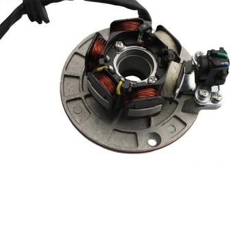GOOFIT 12V 12V Del Estator Del Magneto Flywheel Rotor Kit Para Yx 140cc 150cc 160cc Pozo De La Bici De La Suciedad Grupo-6