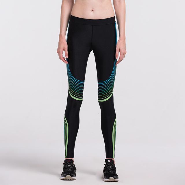 Hot Sales! New Push-up Leggings Summer Men Women Skinny Elastic Patchwork Print Sporting Leggings Pants Fitness Clothing