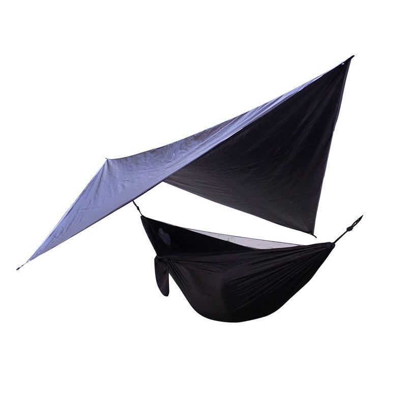 Hamac Portable Double personne Camping survie jardin balançoire chasse suspendu chaise de couchage voyage meubles Parachute hamacs