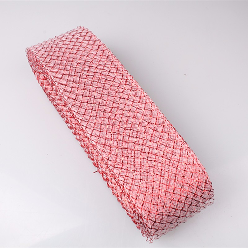 Crinolina tecido de malha tranças DIY material