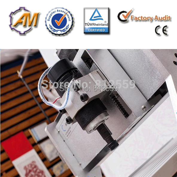 3040 CNC ROUTER ENGRAVER 4 AXIS MILLING STEPPING MOTOR HARD WOOD DURABLE SERVICE cnc 5axis a aixs rotary axis t chuck type for cnc router cnc milling machine best quality