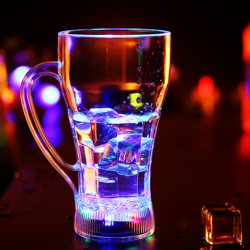 <font><b>Colorful</b></font> Glowing <font><b>Cups</b></font> Water Induction Luminous Light Up Beer <font><b>Cup</b></font> <font><b>LED</b></font> <font><b>Flashing</b></font> Coker Beer Mug <font><b>Shot</b></font> <font><b>Glass</b></font> Party Glow Supply