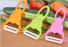 1PC Cute Colorful Fruit Vegetable Potato Ceramic Peeler Kitchen Tool Helper EKX 196