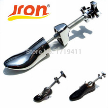 1ピースアルミ鋼新しい到着プラスチック調節可能な男性と女性靴ストレッチャー2way木製靴シェイパー調整可能なツリー Jron