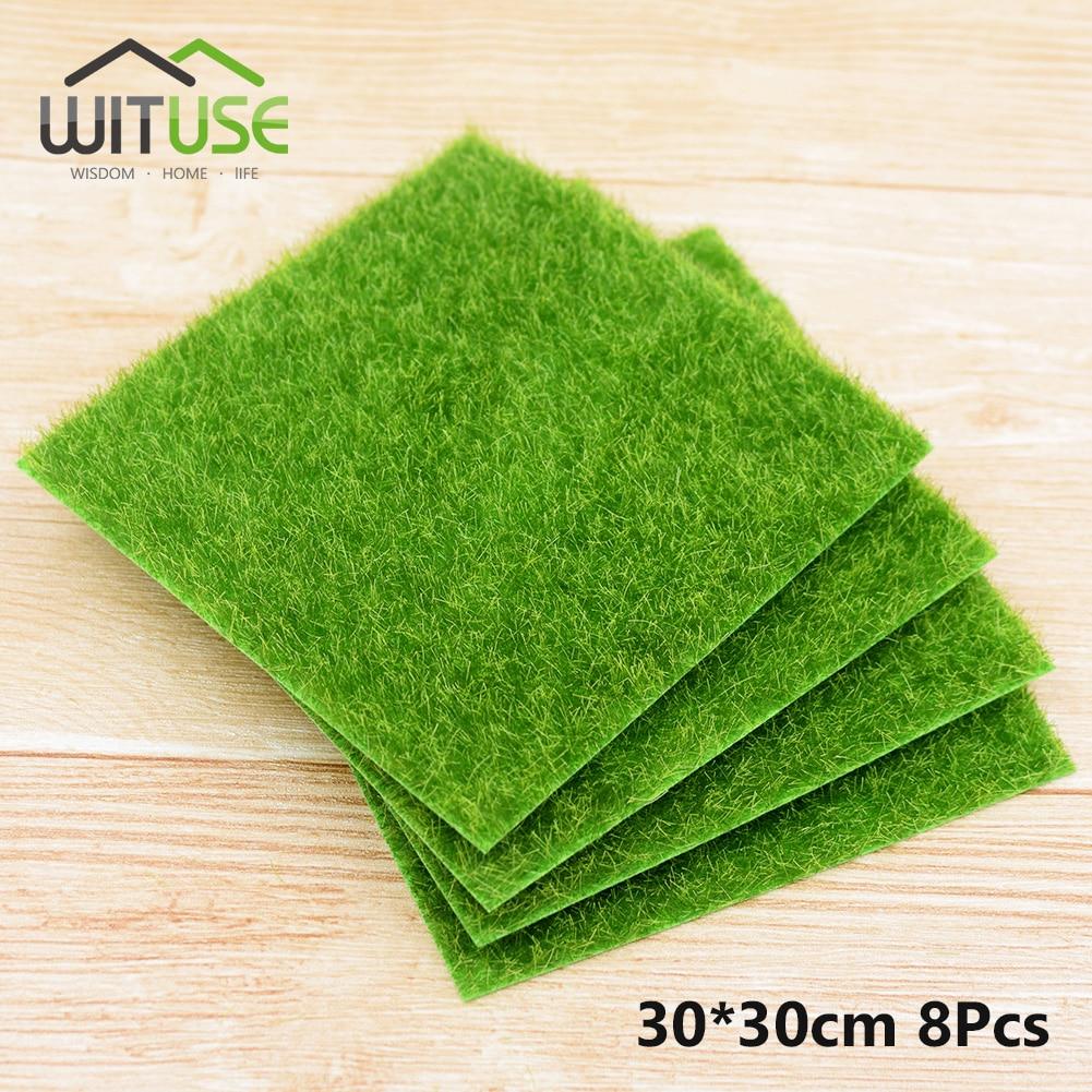 Aliexpress.com : Buy WITUSE 8Pcs Grass Mat Green ...
