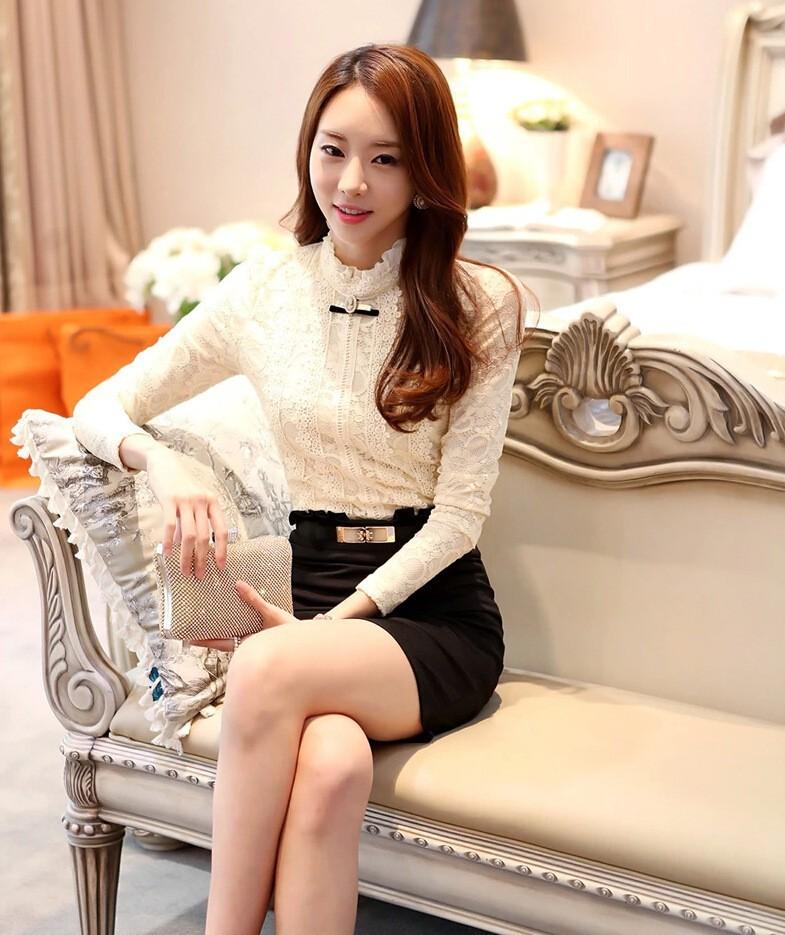 HTB1GSrzGVXXXXa4aXXXq6xXFXXXa - New Lace Shirt Women Clothing Blusas Femininas Blouses