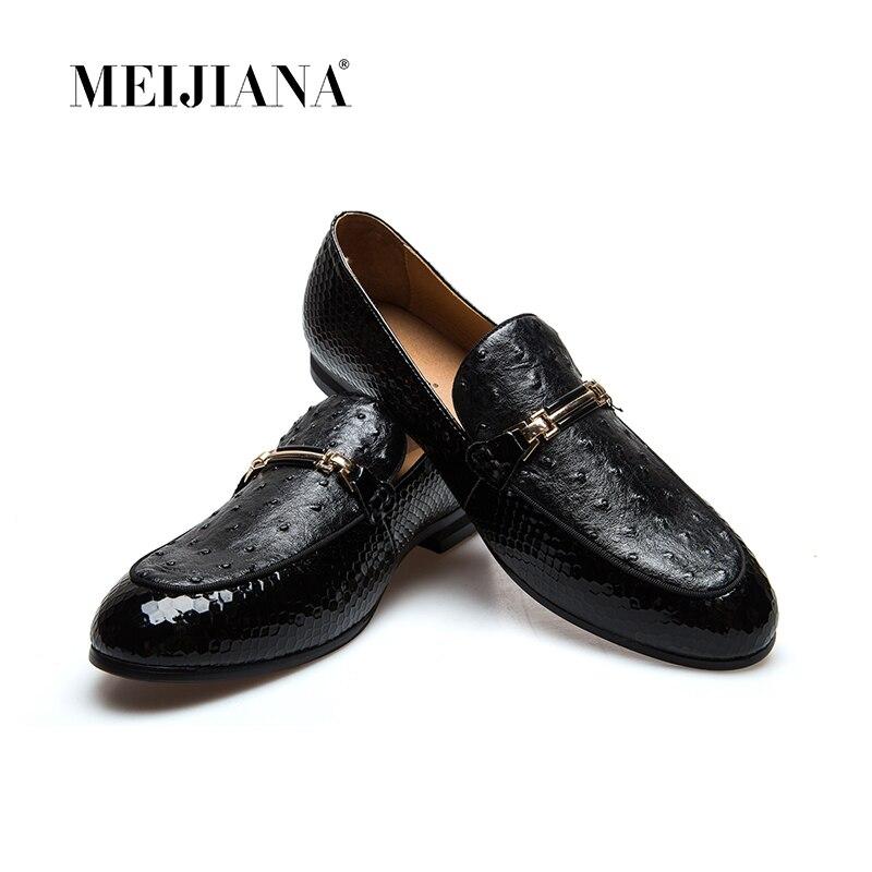 MeiJiaNa Men Shoes Brand Casual Leather Black Men Shoes Luxury  Brand LoafersMeiJiaNa Men Shoes Brand Casual Leather Black Men Shoes Luxury  Brand Loafers