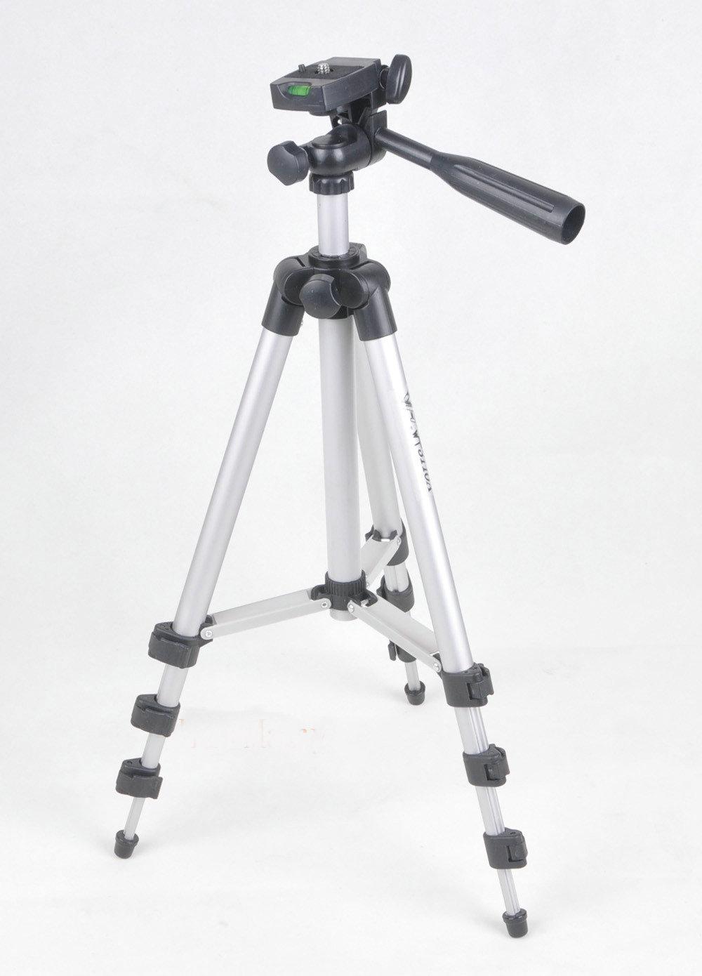 NUOVO 3110 Treppiede Portatile 3 Vie Testa + borsa Per Macchina Fotografica di Nikon Sony Canon telefono