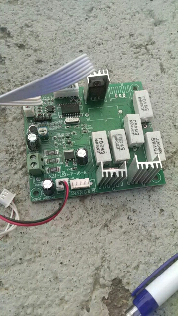 цена на 36PCS LED Par Can Main Board Replacement LED Par Cannon MainBoard Part channel 1 dimer 2 red 3 green 4 blue 5 programs 6 speed