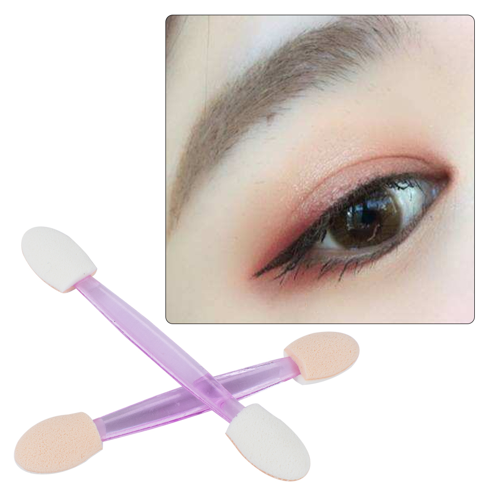 Professional 10Pcs Eyeshadow Brushes Set Sponge Makeup Eye Shadow Eyeliner Lip Brush Eye's Makeup Brush Women's Beauty Tools