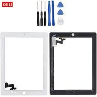 9.7 inch חדש עבור אפל ipad 2 מגע LCD עדשת מסך חיצוני חזית זכוכית לוח עבור אפל ipad2 + כלים