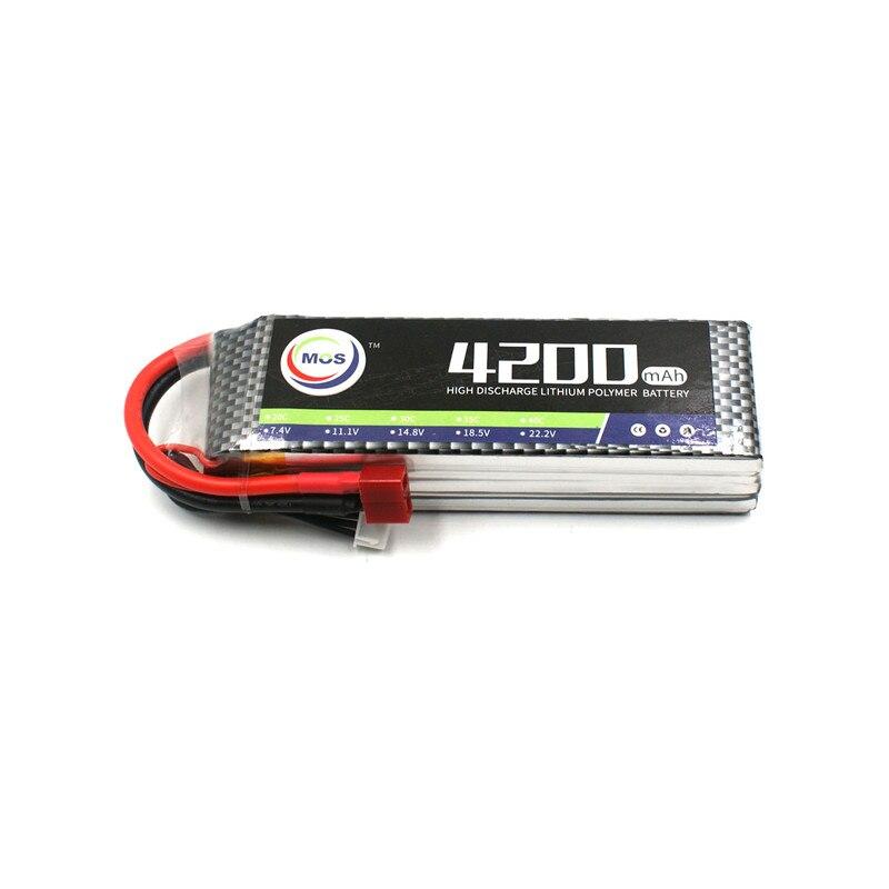 MOS 3 s 11.1 v 4200 mah 35c RC lipo batterie pour RC Avion Drone AKKU Livraison gratuite
