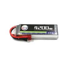 MOS 3S 11.1V 4200mah 35c RC lipo battery for RC Airplane Drone AKKU Free shipping