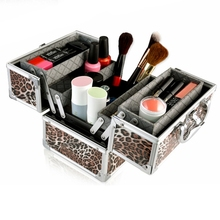 Tattoo dresser tool kit multi-layers lady girl women apply cosmetics makeup artist dressing face-painting toiletry truck bags