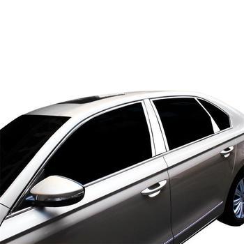 Jendela Eksterior Excent Dekoratif Modifikasi Auto Gaya Dekorasi Stiker Strip 13 14 15 16 17 18 19 untuk Volkswagen bora