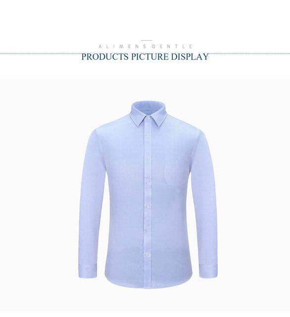 9XL 5XL Regular Fit Long Sleeve Casual Shirts For Men 2019 Brand New Casual Men Shirts 6XL Camisas Manga Larga Masculina 13