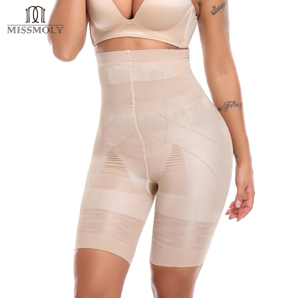 b3a4e36bd Women Sexy Lace High Waist Shapewear Tummy Control Slimming Waist Trainer  Postpartum Abdomen Body Shaper Underwear Pants