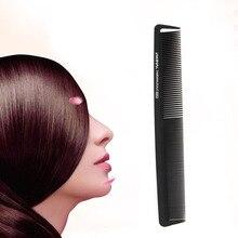 1 Unid Negro Plástico de dientes Finos Style Hair Salon Peluquería Peine antiestático