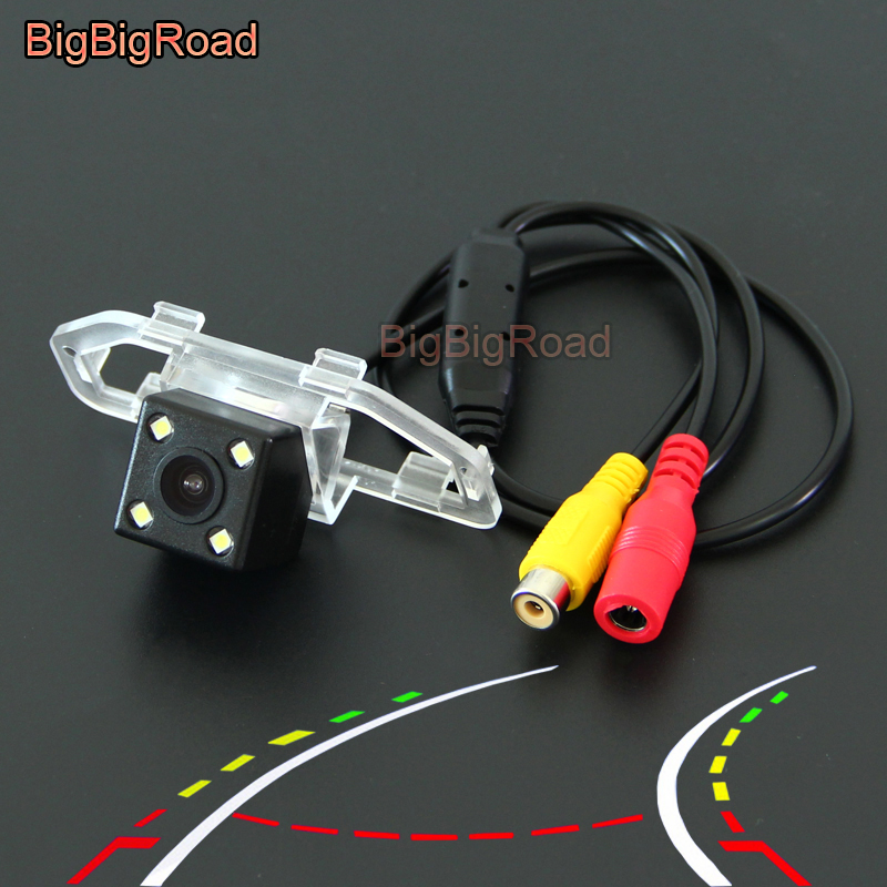 BigBigRoad For toyota camry 2012 2013 2014 2015 2016 Car Intelligent Dynamic Trajectory Tracks Rear View Parking CCD Camera
