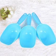 1PC Pet Feeding Shovel Cat Food Scoop Large Capacity Thickening Dog Spoon Plastic Feeder Snack Bag Clip Litter