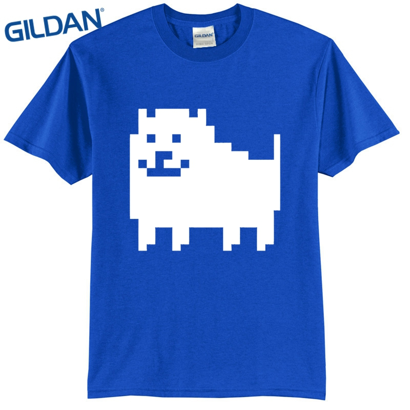 a636a7b6f Black T Shirt Men Undertale Annoying Dog Clothes Men Cool Tees Tops Online  Shirts black mens t shirt-in T-Shirts from Men's Clothing on Aliexpress.com  ...