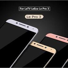 Закаленное Стекло для LeTV LeEco Le Pro 3 PRO3 x720 Elite x722 Экран Full Cover для LeEco Le Pro 3x726x656 Стекло Плёнки