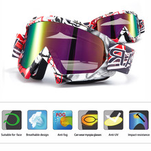 Motocross Motorbike Glasses Goggles motorcycle Ski Goggles Windproof MX Goggles Antiparras Motocross fit for FOX Racing Helmet