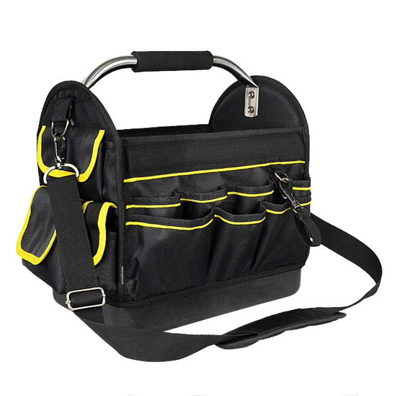 Portable Tool Case Bags 1680D Oxford Cloth Multi-function Waterproof Woodworking Electrician Hardware Maintenance Tool Case