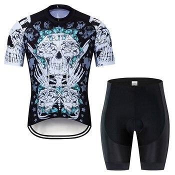 Conjunto de jerseys de ciclismo nuevo 2019 ropa de ciclismo para hombre