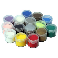 7 8 Pcs 20ml Embossing Powder DIY Metallic Paint Rubber Stamp Scrapbooking Tools