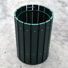 CRESTGOLF Golf Putting Green Trash Can Garbage Mesh Bin Wastebasket Training Equipment