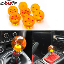 RASTP-Car Styling Dragon Ball Gear Shift Knobs Racing Stick Cool Acrylic Star Knob for Universal Cars RS-SFN042