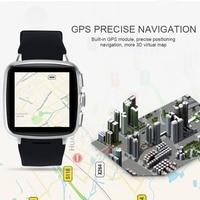 Nieuwe Z1 smart horloge Android 5.1 metel 3G smartwatch 5MP camera hartslagmeter Stappenteller WIFI GPS reloj inteligente klok