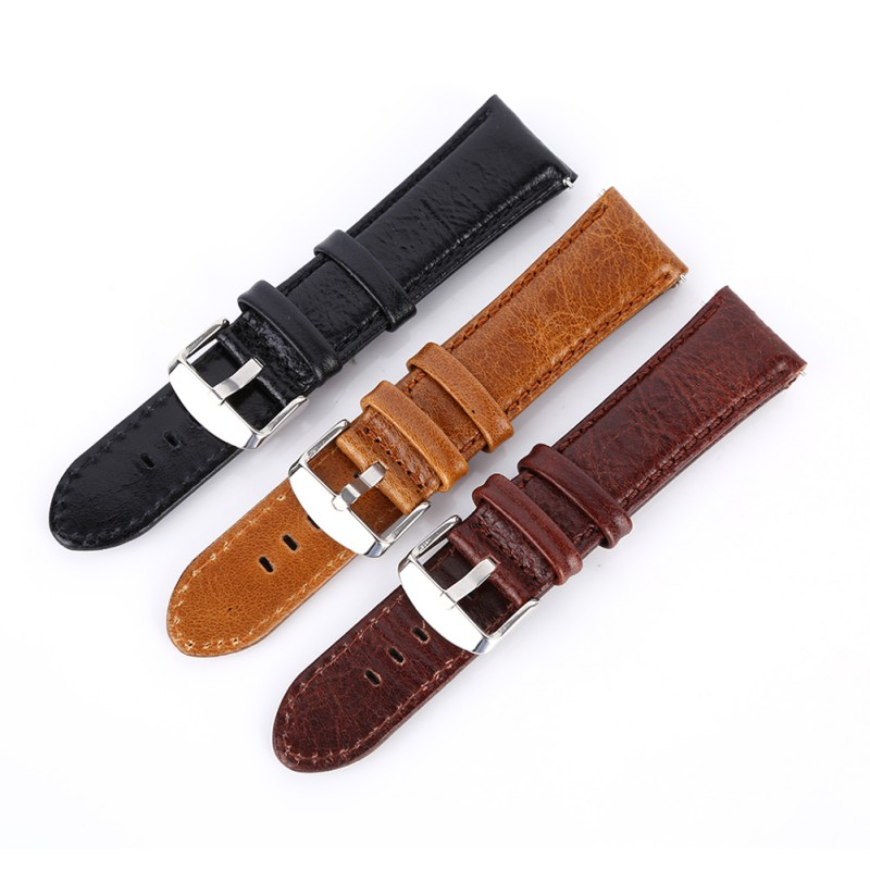 Fashion Watch Band Strap Leather Quick Release 9-hole Pin Buckled Adjustable Wristband Wristwatch Replacement AccessoriesFashion Watch Band Strap Leather Quick Release 9-hole Pin Buckled Adjustable Wristband Wristwatch Replacement Accessories