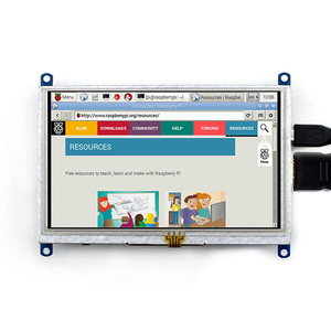 Image 2 - Waveshare 5inch HDMI LCD (B) 800*480 Resistive Touch Screen,5 HDMI LCD/monitor,Support Windows 10/8.1/8/7,various systems